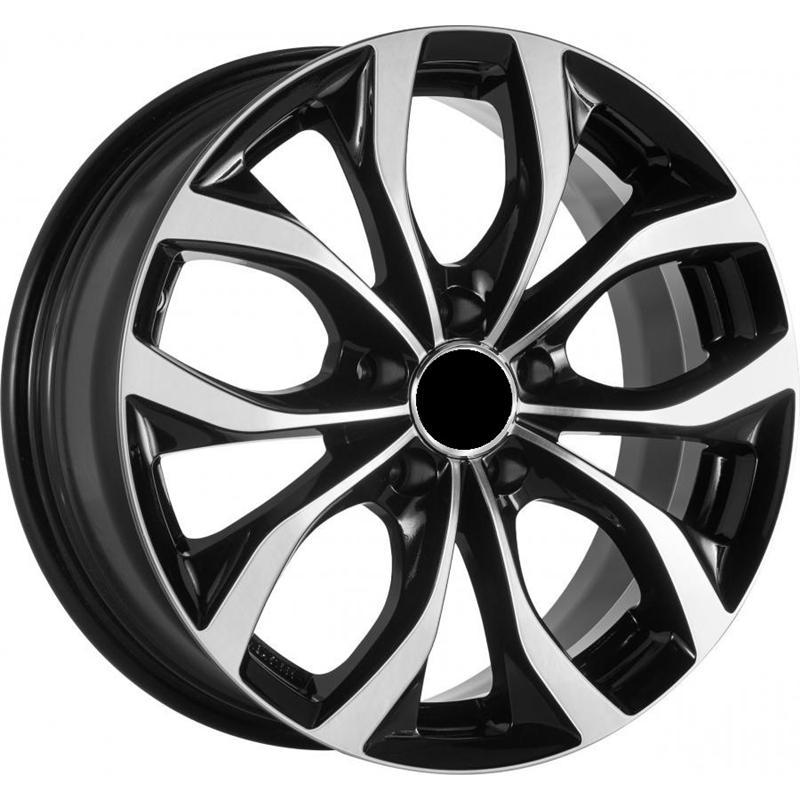 optional wheels ATHOS BLACK POLISHED