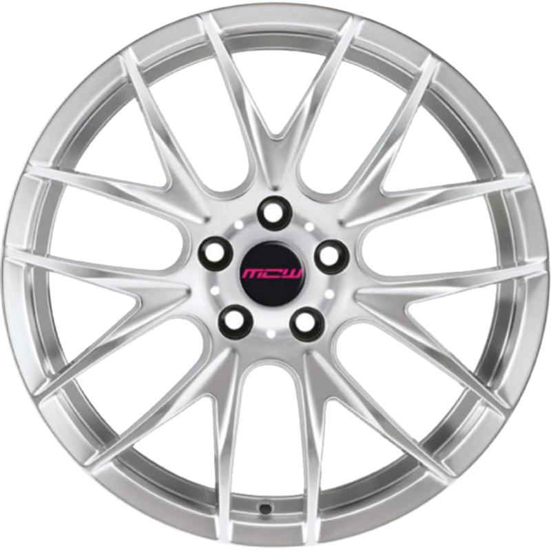 mc wheels MISTRAL SILVER