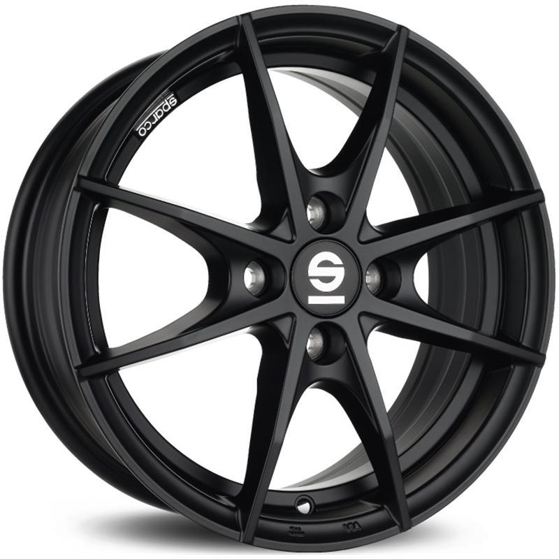 sparco TROFEO 4F MATT BLACK
