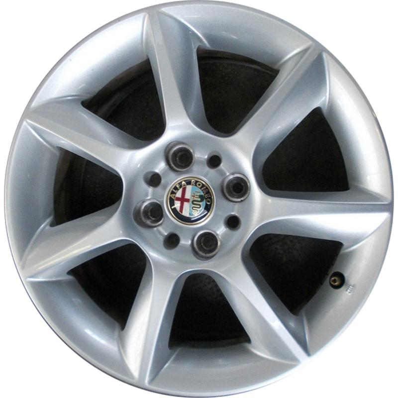 optional wheels AL650 ORIG. SMONTATI NUOVI SILVER