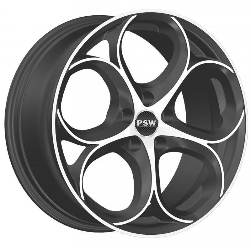 optional wheels PSDUB MATT ANTHRACITE POLISHED