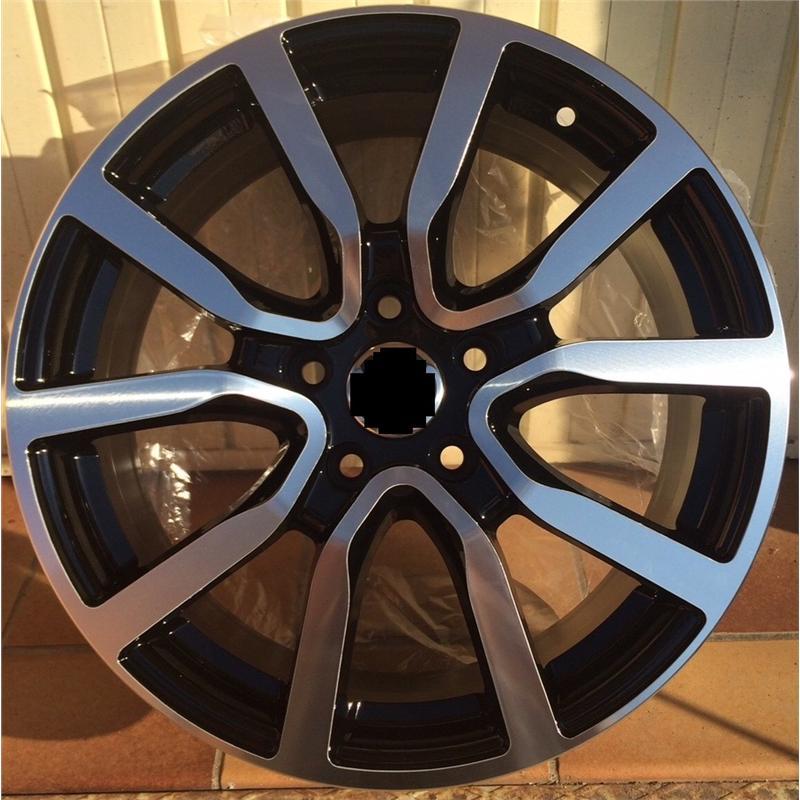 optional wheels LUPO BLACK POLISHED