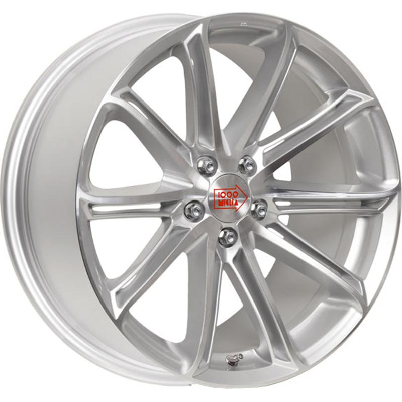 mille miglia MM1007 SILVER GLOSS POLISHED