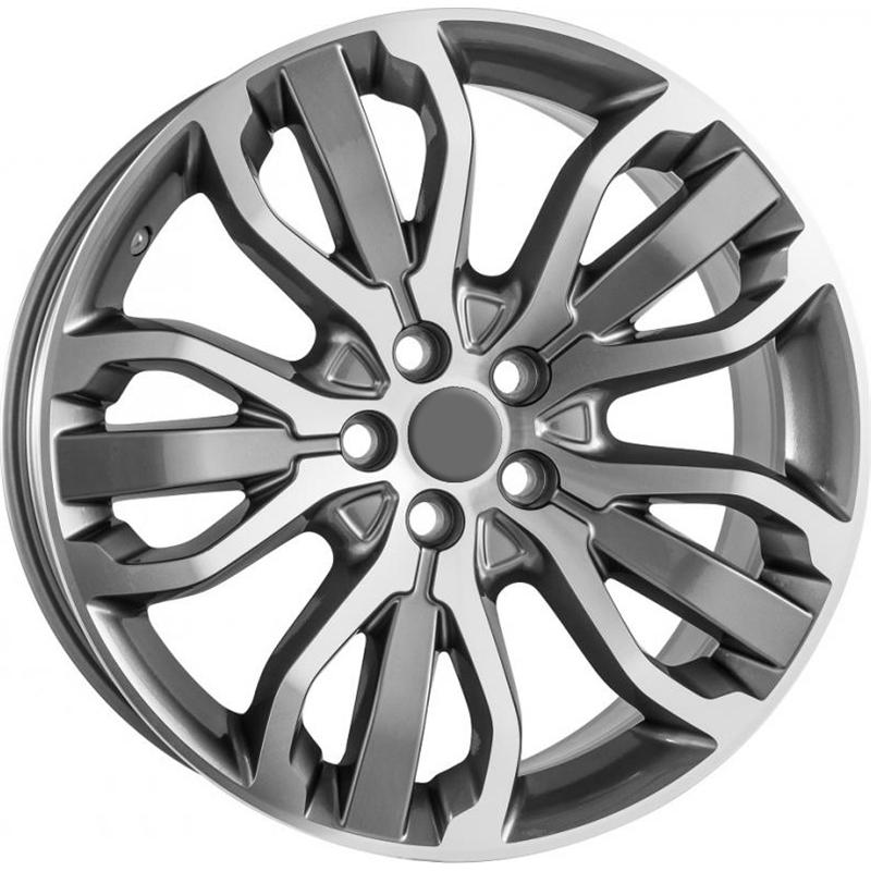 optional wheels PSARG - DEDICATED RANGE - (Omol ECE) GUN METAL POLISHED