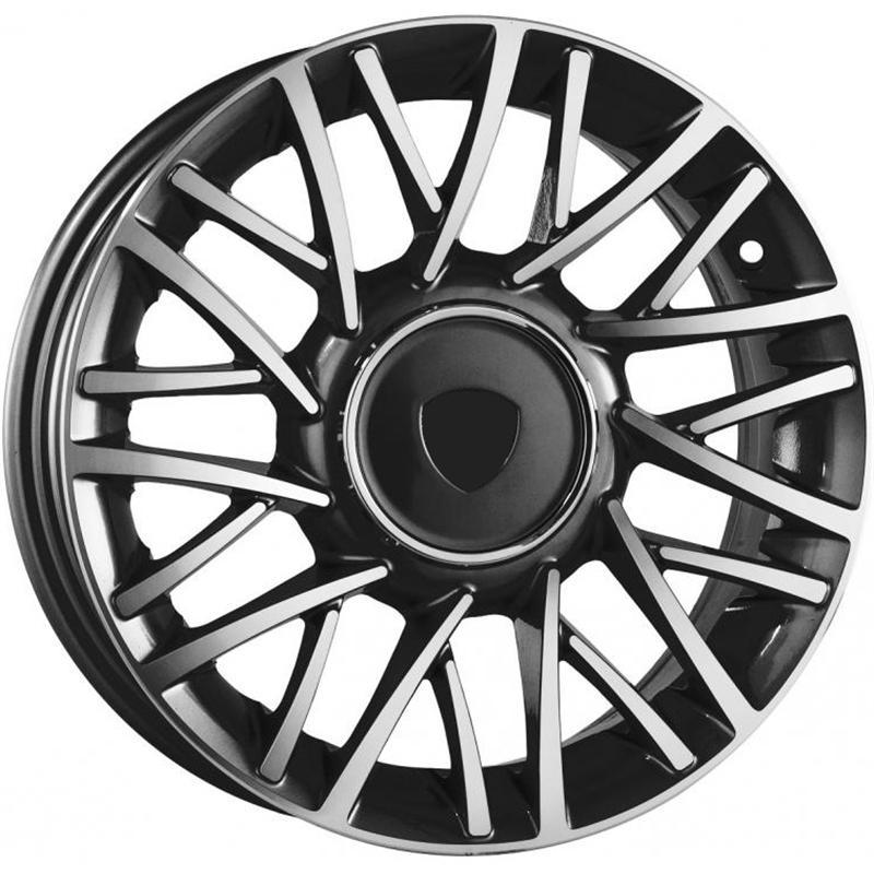 optional wheels PSMO - DEDICATED LANCIA - (Omol ECE) BLACK MIRROR