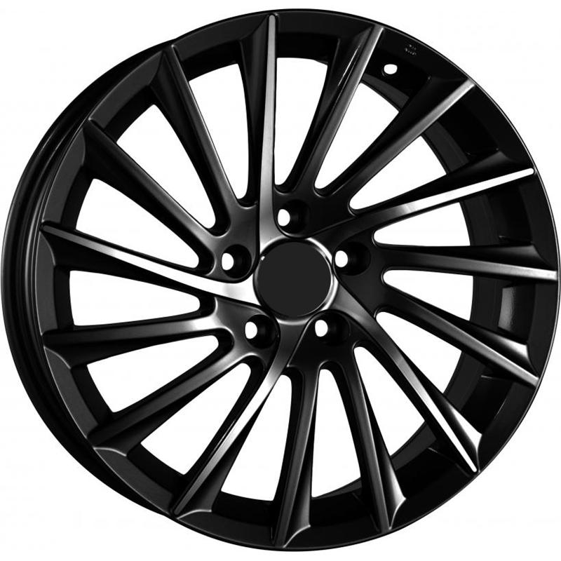 optional wheels PSSH - DEDICATED ALFA - (Omol ECE) MATT BLACK POLISH