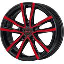 Mak Milano Black And Red