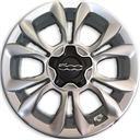 Originale Fiat Oe 500 x - Originali Fiat Dif. Aspetto Silver