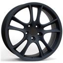 Optional Wheels W1051 Tornado Fl.Form Dull Black