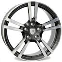 Optional Wheels W1054 Saturn Anthracite