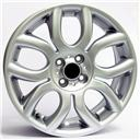 Optional Wheels W1650 Elena Silver