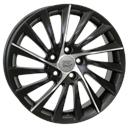 Optional Wheels W256 Giulietta Dull Black Polished