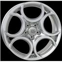 Optional Wheels W257 Romeo Silver