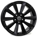 Optional Wheels W457 Rostock Dull Black