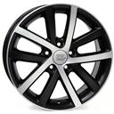 Optional Wheels W460 Rheia Dull Black Polished