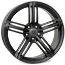 Optional Wheels W560 Pompei Matt Gun Metal
