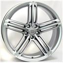 Optional Wheels W560 Pompei Silver