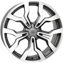 Optional Wheels W565 Medea Matt gm Polished