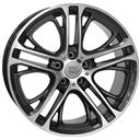Optional Wheels W677 x3 Xenia Diamond Black Polished