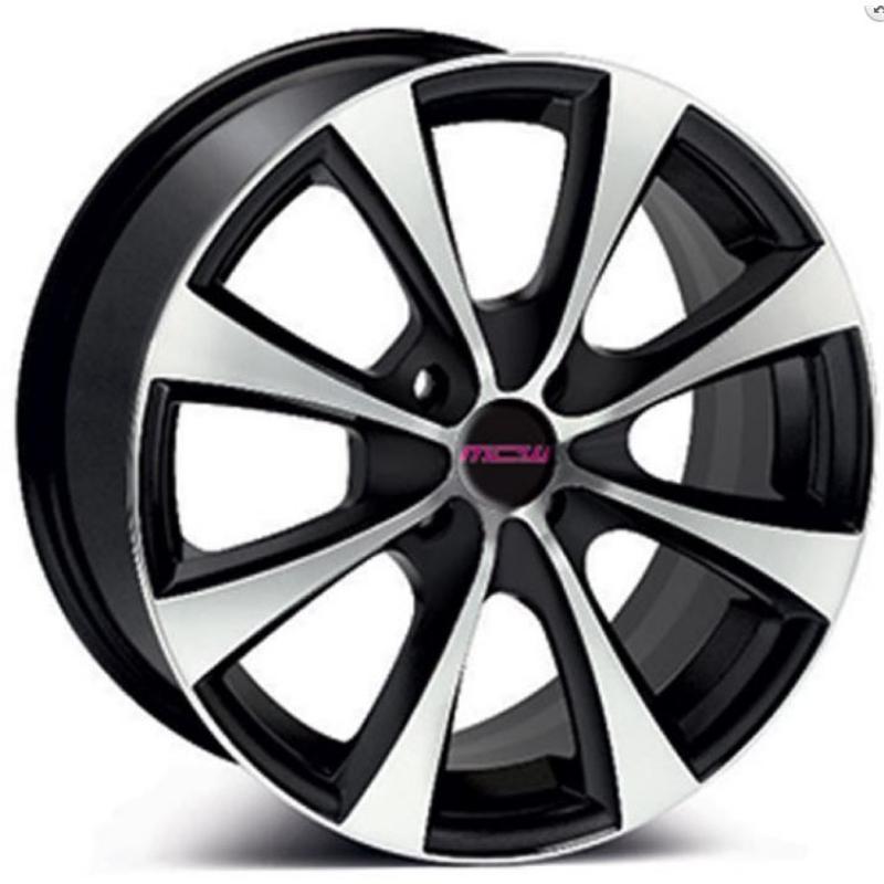 mc wheels FROST BLACK POLISHED