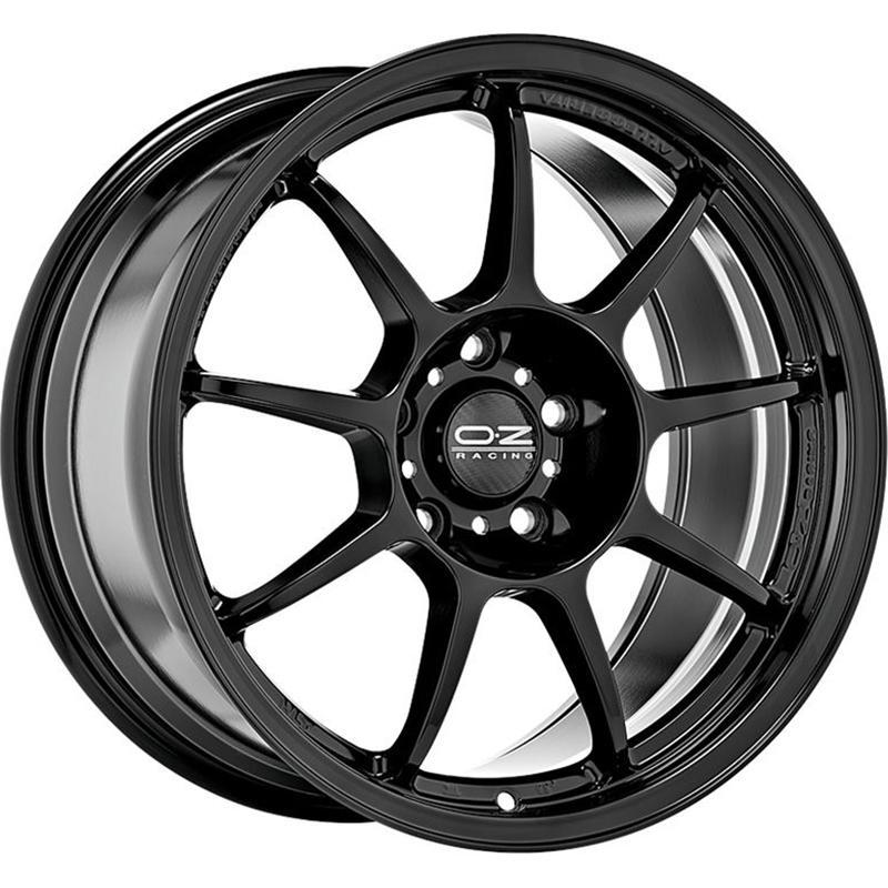 oz racing ALLEGGERITA HLT 5F GLOSSY BLACK