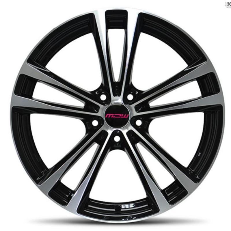 mc wheels OLYMPIA BLACK POLISHED