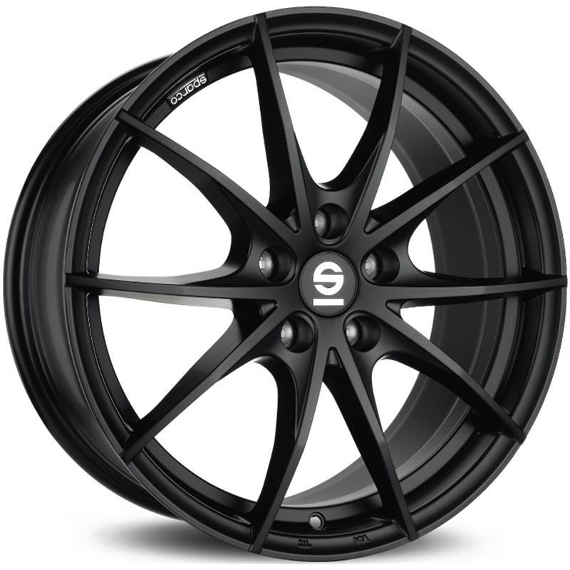 sparco TROFEO 5 MATT BLACK