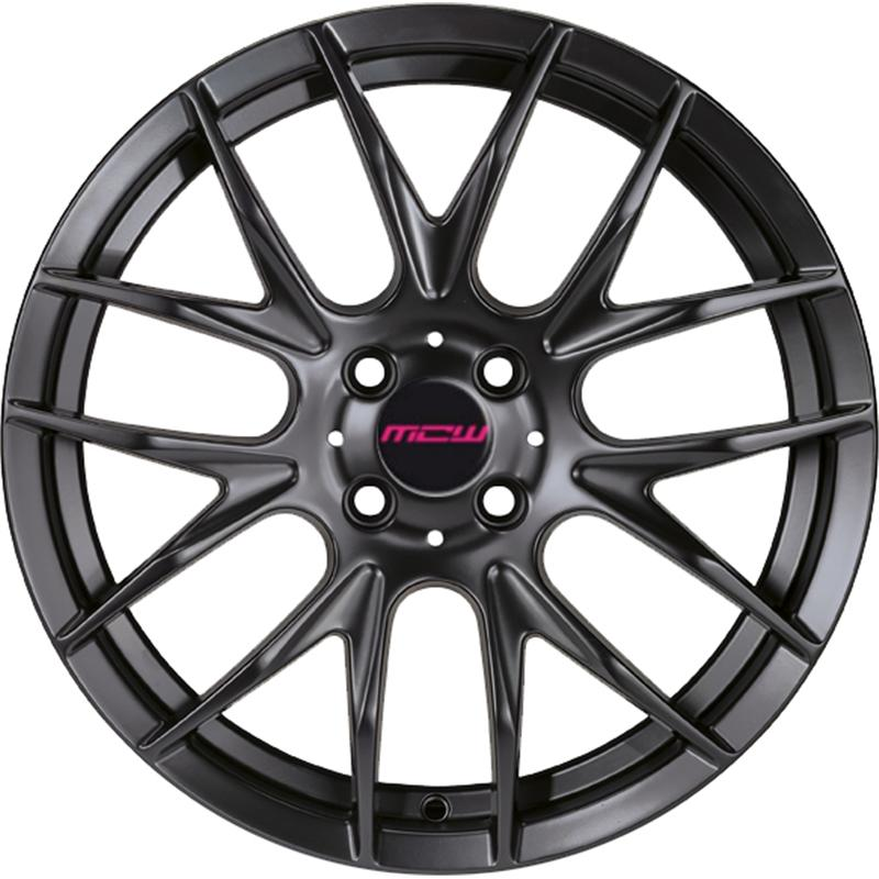 mc wheels MISTRAL BLACK
