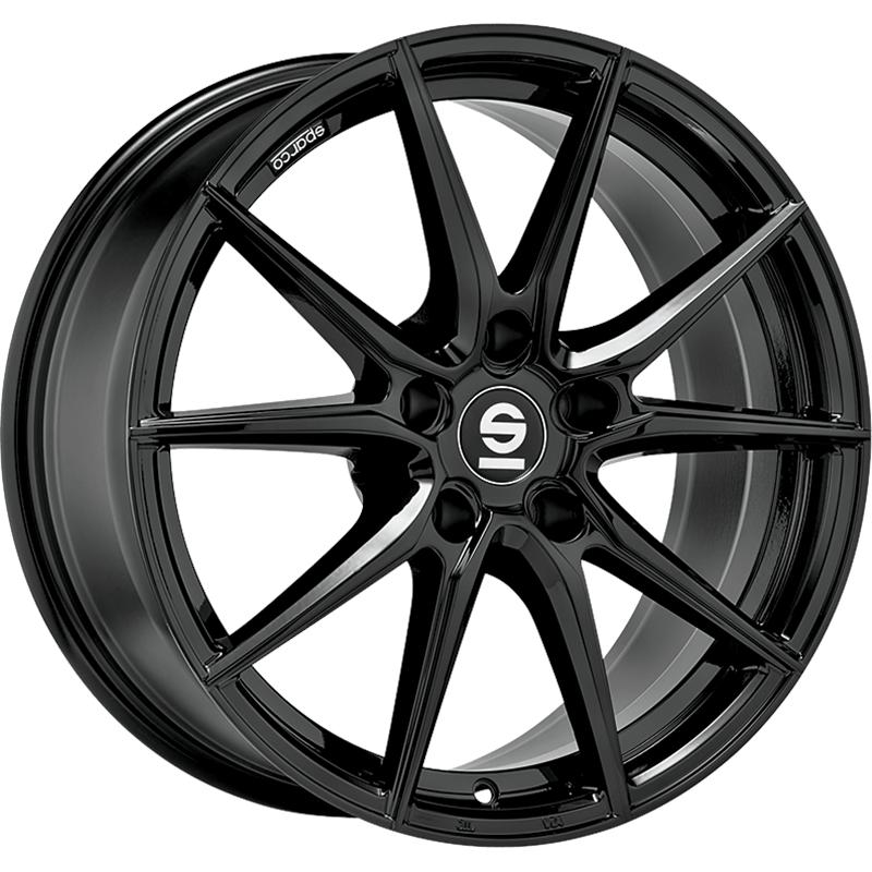 sparco DRS GLOSSY BLACK